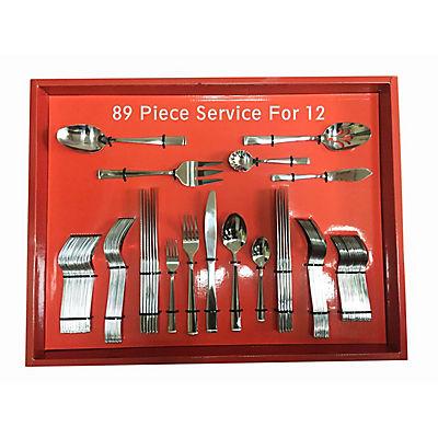 89-Pc. Flatware Set