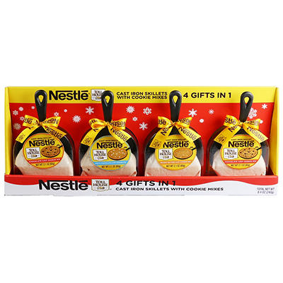 Nestle Toll House Cast Iron Skillets with Cookie Mixes, 4 pk.