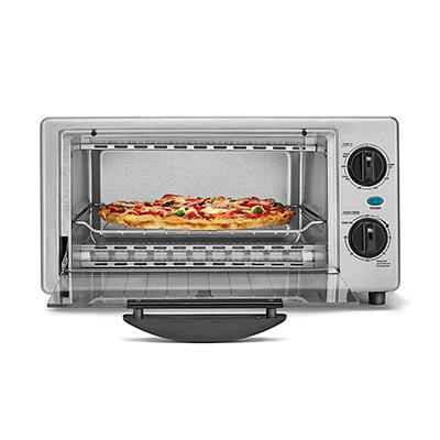 Bella 4-Slice Toaster Oven - Stainless Steel