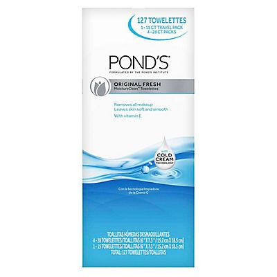 Pond's Original Fresh Moisture Clean Towelettes, 127 ct.