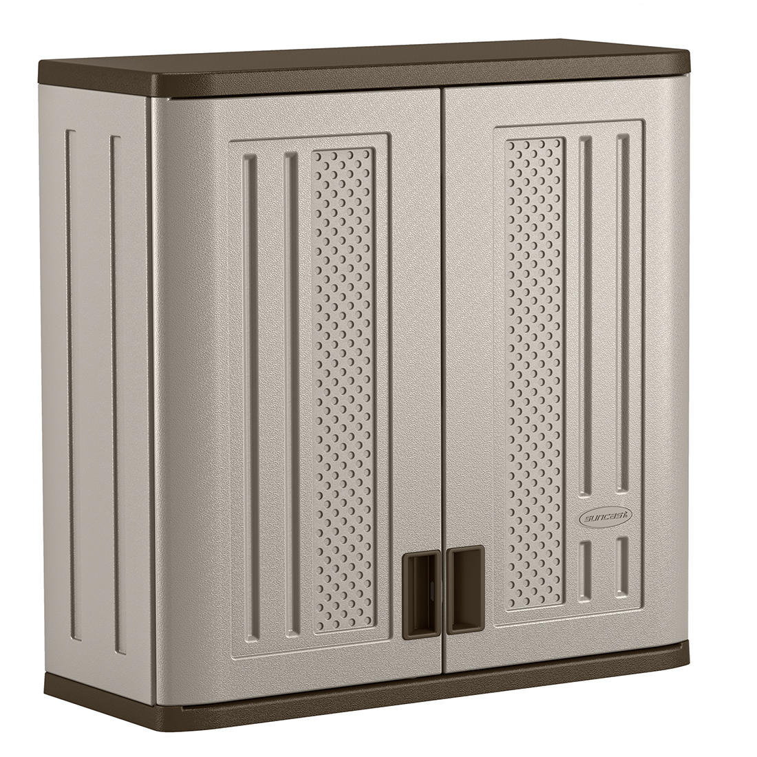 Suncast Wall Storage Cabinet Gray