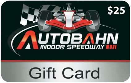 25 Autobahn Indoor Speedway Gift Card 2 Pk Bjs Wholesale Club