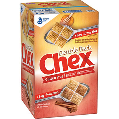 Chex Double Pack Cereal, 39 oz.