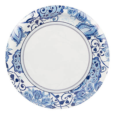 "Artstyle 10"" Plates, 40 ct. - Serenity"
