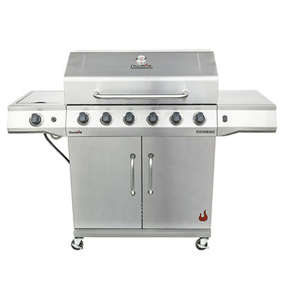 Char-Broil Performance 6-Burner Gas Grill - Stainless Steel