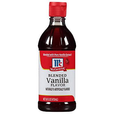 McCormick Blended Vanilla Flavor, 16 fl. oz.