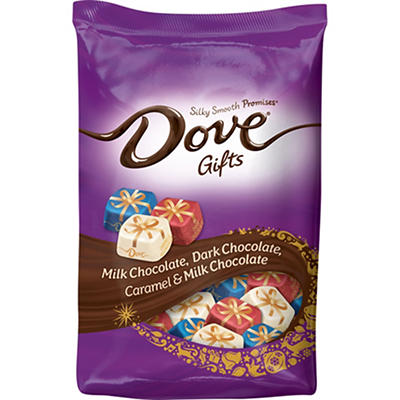 Dove Gifts Silky Smooth Promises Variety Pack, 34 oz.