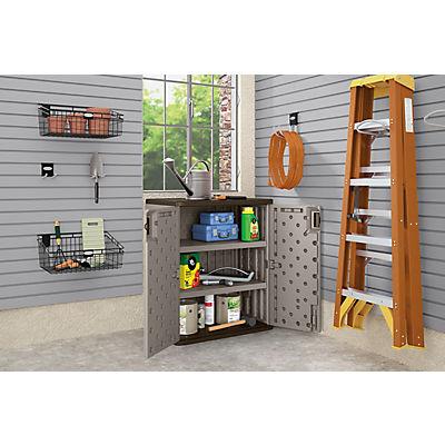 Suncast Base Storage Cabinet - Gray
