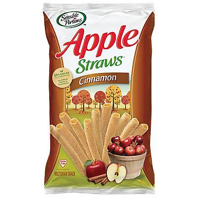 Sensible Portions Cinnamon Apple Straws, 17.5 oz.