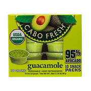Cabo Fresh Guacamole Snack Packs, 10 ct./2 oz.