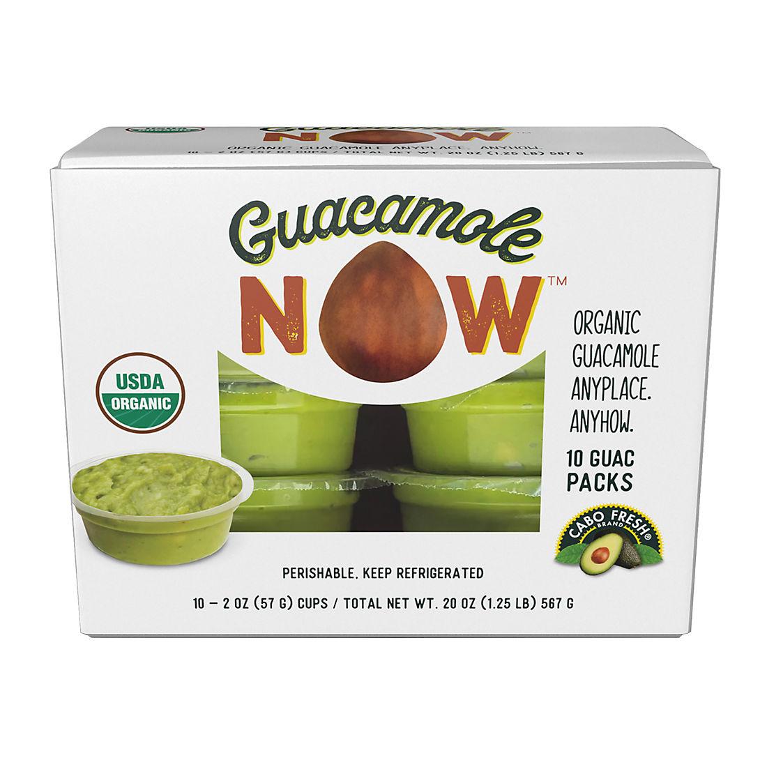 Cabo Fresh Guacamole Snack Packs, 10 ct /2 oz