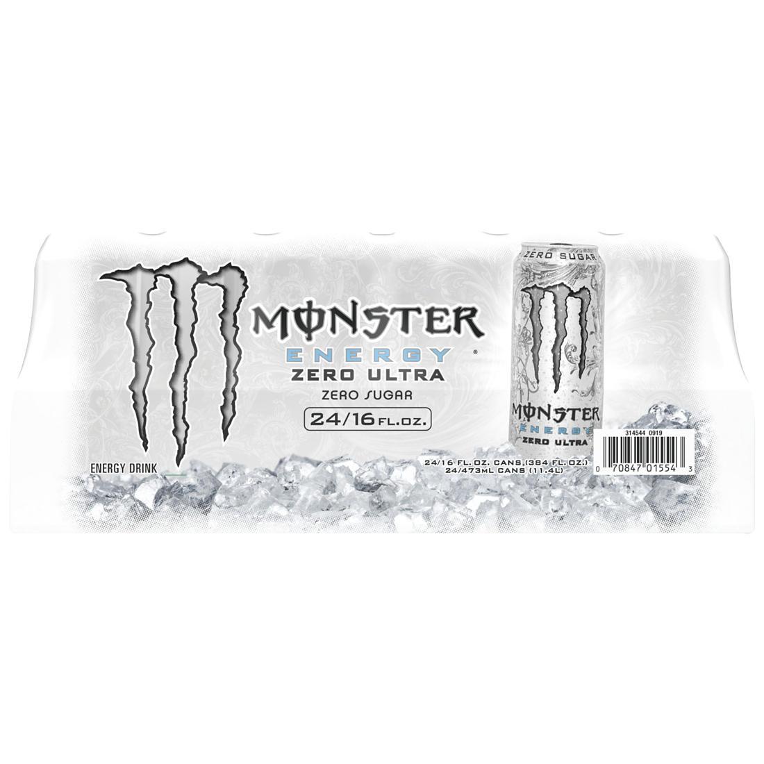 Monster Energy Zero Ultra, 24 pk /16 oz