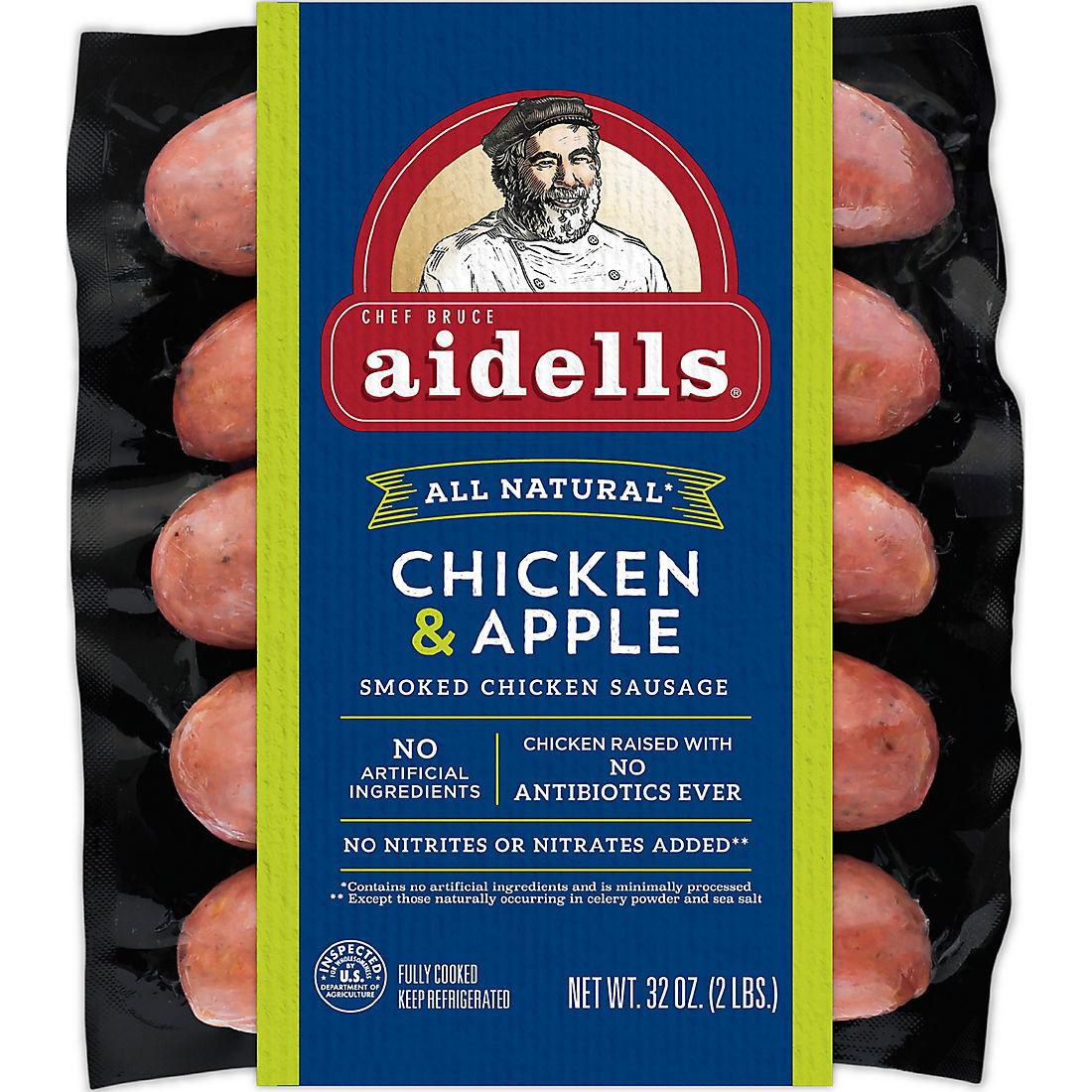 Aidells Smoked Organic Chicken Sausage