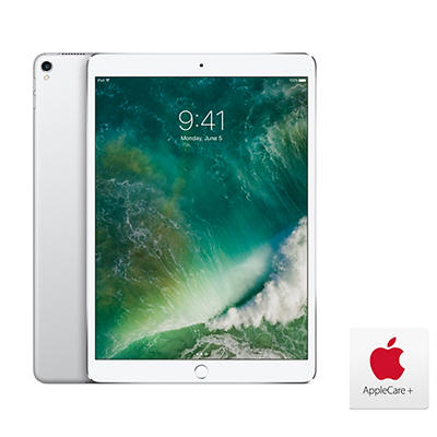 "Apple iPad Pro 10.5"", 512GB - Silver with AppleCare+"