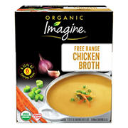 Imagine Organic Free-Range Chicken Broth, 6 pk./32 fl. oz.