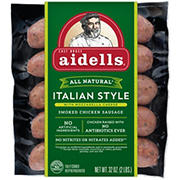 Aidells Italian Style Smoked Chicken Sausage with Mozzarella Cheese, 32 oz.