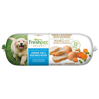 Freshpet Select Tender Chicken with Vegetables and Brown Rice Dog Food