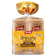 Sara Lee Artesano Golden Wheat Bread, 2 pk./20 oz.