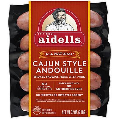 Aidells Cajun Style Andouille Smoked Pork Sausage, 10 ct./3.2 oz.