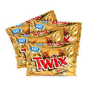 Twix Caramel Fun-Sized Cookie Bars Bag, 4 pk./10.83 oz.