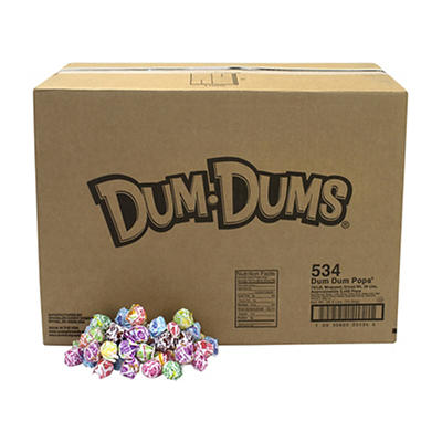 Dum Dums Assorted Lollipops, 30 lbs.