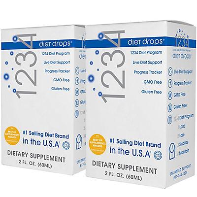 Creative Bioscience 1234 Dietary Supplement Drops, 2 pk./2 fl. oz.
