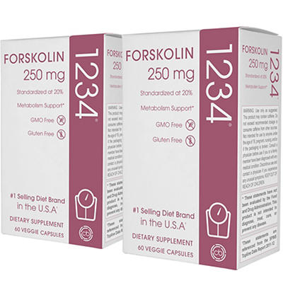 Creative Bioscience Forskolin 1234 Dietary Supplement Veggie Capsules,