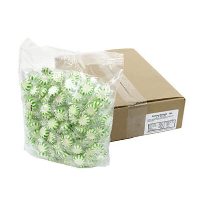 Sunrise Confections Spearmint Starlight Mints, 5 lbs.
