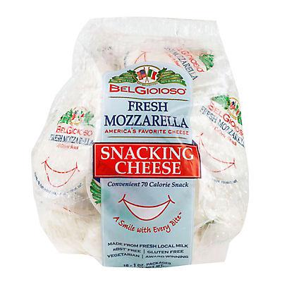 BelGioioso Fresh Mozzarella Snacking Cheese, 18 oz.