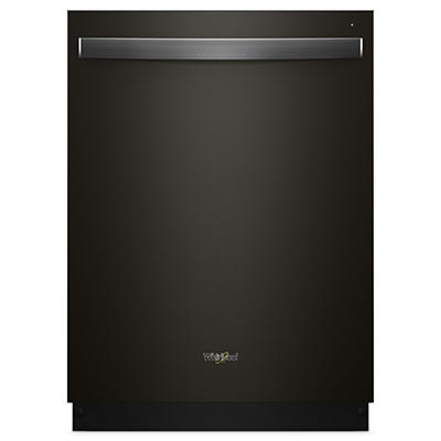 Whirlpool Top-Control Dishwasher - Black Stainless