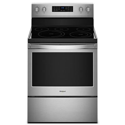 Whirlpool 5.3-Cu.-Ft. Freestanding Electric Range - Stainless Steel