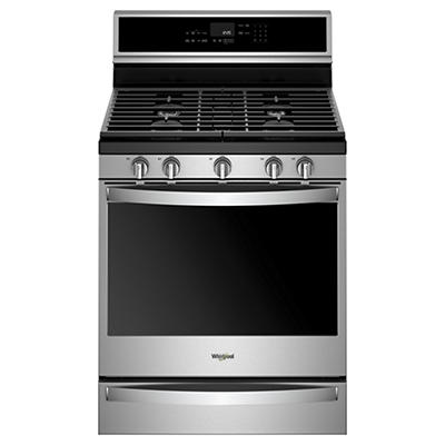 Whirlpool 5.8-Cu.-Ft. Freestanding Gas Range - Stainless Steel
