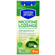 Berkley Jensen 2mg Nicotine Polacrilex Lozenges, 168 ct.