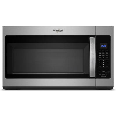Whirlpool 1.9-Cu.-Ft. Steam Microwave with Sensor Cooking - Black Stainless