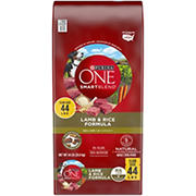 Purina ONE SmartBlend Lamb & Rice Formula Adult Premium Dog Food, 44 lbs.