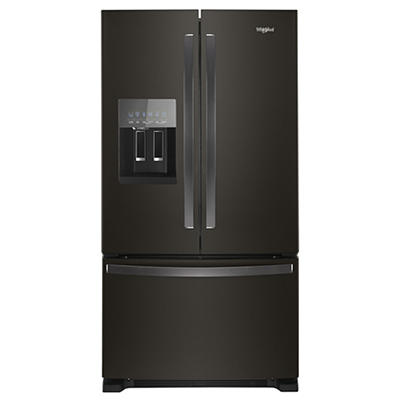 Whirlpool 25-Cu.-Ft. French Door Refrigerator - Black Stainless