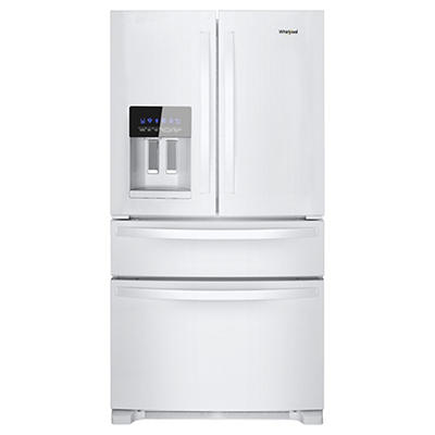 Whirlpool 25-Cu.-Ft French Door Refrigerator - White