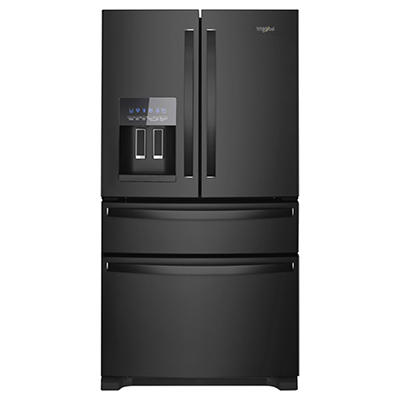 Whirlpool 25-Cu.-Ft French Door Refrigerator - Black