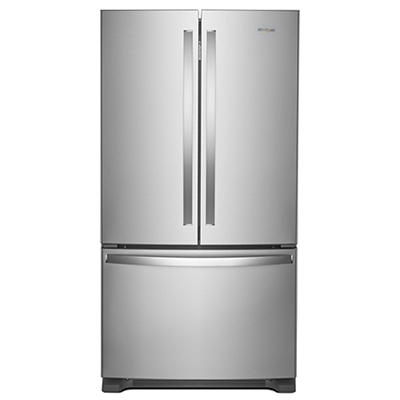 Whirlpool 20-Cu.-Ft. Counter-Depth French Door Refrigerator - Stainles