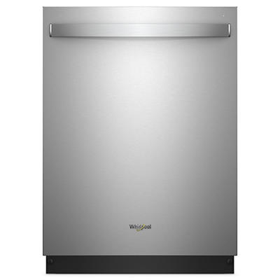 Whirlpool Top-Control Dishwasher - Stainless Steel
