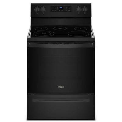 Whirlpool 5.3-Cu.-Ft. Freestanding Electric Range - Black