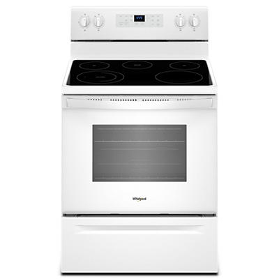 Whirlpool 5.3-Cu.-Ft. Freestanding Electric Range - White