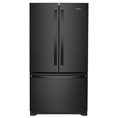 Whirlpool 25-Cu.-Ft. French Door Bottom-Mount Refrigerator - Black