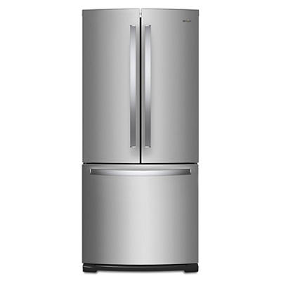 Whirlpool 20-Cu.-Ft. French Door Bottom-Mount Refrigerator - Stainless