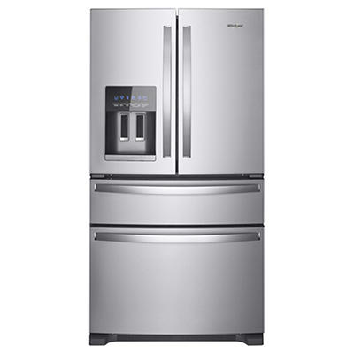 Whirlpool 25-Cu.-Ft French Door Refrigerator - Stainless Steel