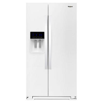 Whirlpool 28-Cu.-Ft. Side-by-Side Refrigerator - White