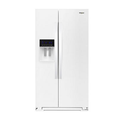 Whirlpool 21-Cu.-Ft. Counter-Depth Side-by-Side Refrigerator - White