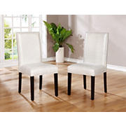 Linon Stewart Dining Chairs, 2 pk. - Glitz