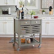 Foster Kitchen Cart - Grey