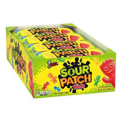 Sour Patch Kids, 24 pk./2 oz.